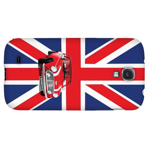 Solo Mini Cooper on Union Jack - Geeks Designer Line Auto Series Hard Back Case for Samsung Galaxy S4