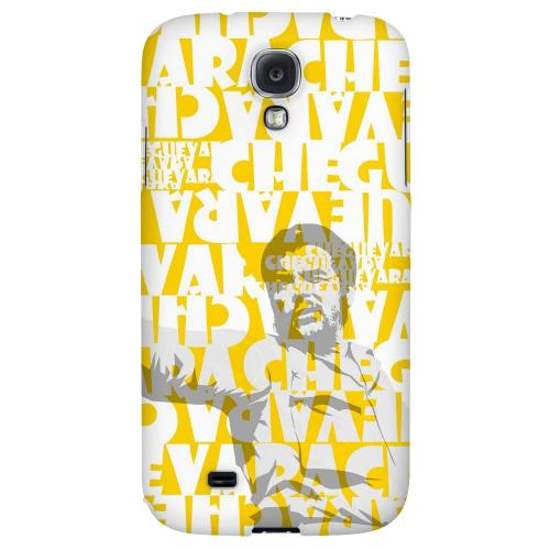 Che Guevara Discurso Faded Yellow - Geeks Designer Line Revolutionary Series Hard Back Case for Samsung Galaxy S4