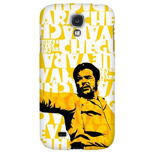 Che Guevara Discurso Pure Yellow - Geeks Designer Line Revolutionary Series Hard Back Case for Samsung Galaxy S4