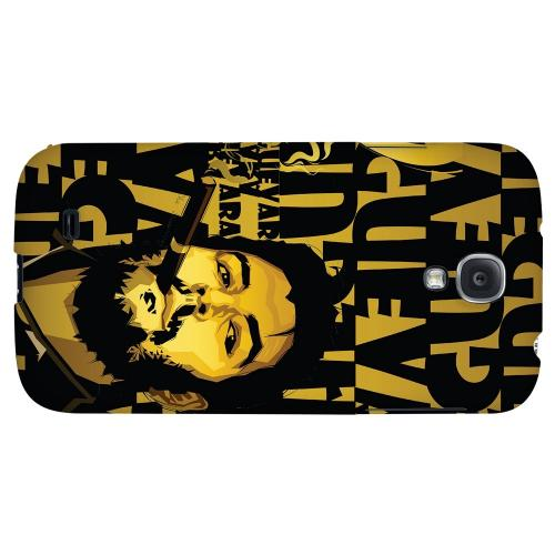 Che Guevara Smoke Gold - Geeks Designer Line Revolutionary Series Hard Back Case for Samsung Galaxy S4
