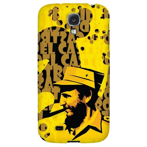 Yellow Fidelity - Geeks Designer Line Revolutionary Series Hard Back Case for Samsung Galaxy S4