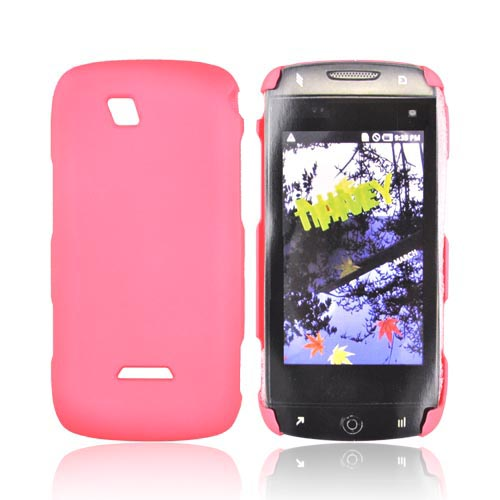 Premium Sidekick 4G Rubberized Hard Back Cover - Salmon