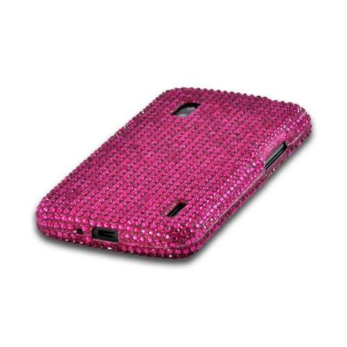 Hot Pink Gems Bling Hard Case for Google Nexus 4