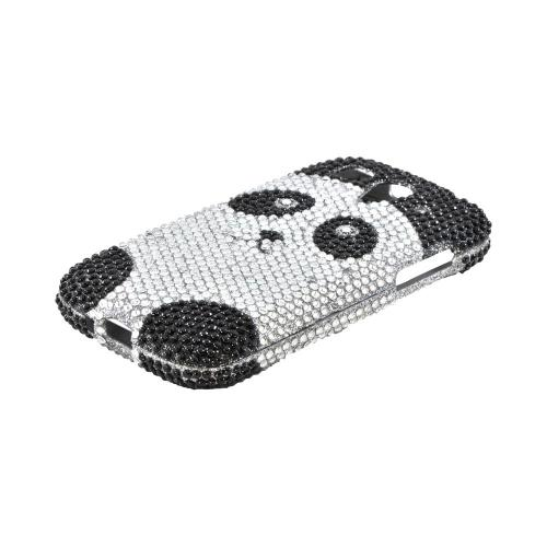 T-Mobile Huawei myTouch 2 Bling Hard Case - Silver/ Black Panda