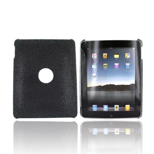 Apple iPad (1st Gen) 1st Bling Hard Case - Black