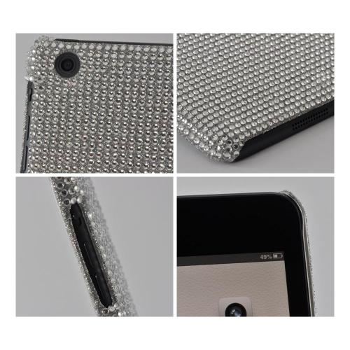 Silver Bling Hard Case for Apple iPad Mini