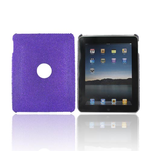 Apple iPad (1st Gen) 1st Bling Hard Case - Purple