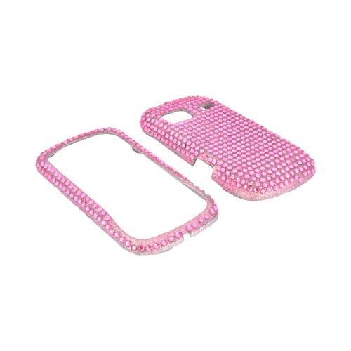 LG Rumor Reflex Bling Hard Case - Pink Gems