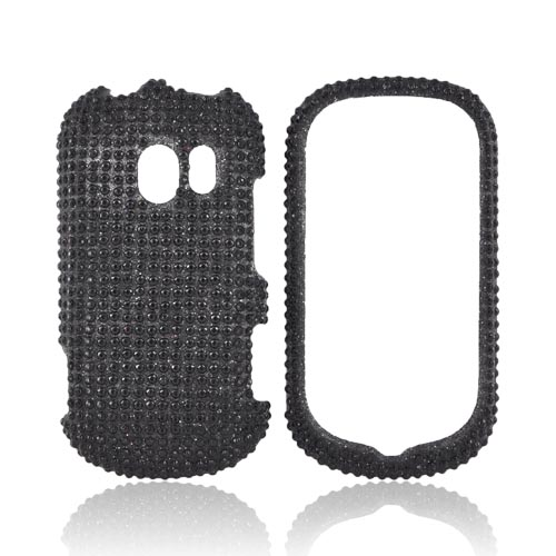 LG Extravert VN271 Bling Hard Case - Black Gems