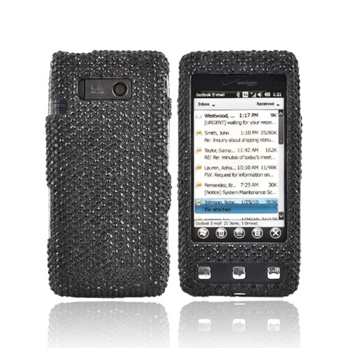 Luxmo LG Fathom VS750 Bling Hard Case - Black