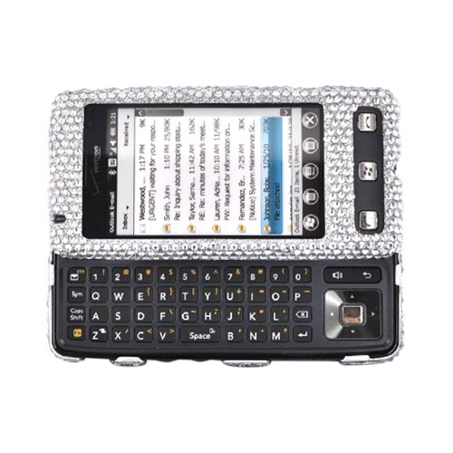 Luxmo LG Fathom VS750 Bling Hard Case - Silver