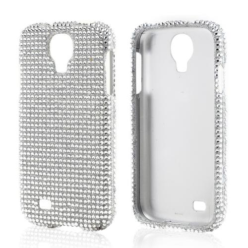 Silver Bling Hard Case for Samsung Galaxy S4