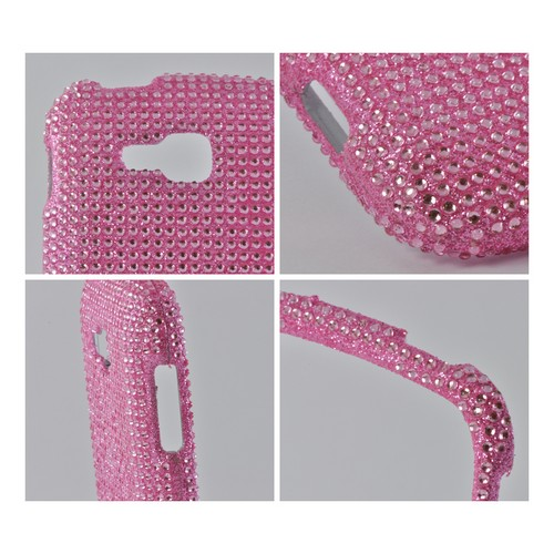 Baby Pink Gems Bling Hard Case for Samsung ATIV Odyssey