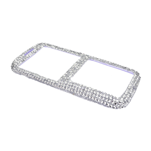 Samsung Rant M540 Bling Hard Case - Silver