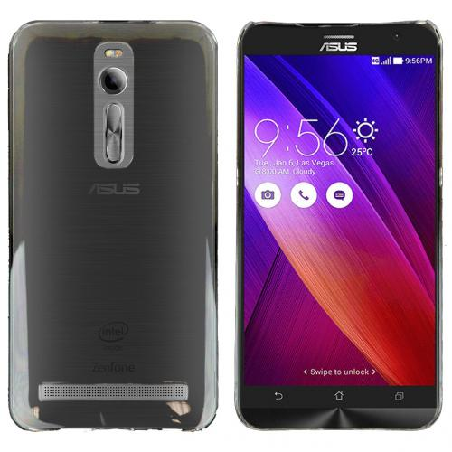 Asus Zenfone 2 Case, Clear Slim & Protective Crystal Glossy Snap-on Hard Polycarbonate Plastic Protective Case