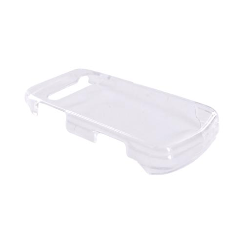 Casio G'zOne Hitachi Ravine C751 Hard Case - Transparent Clear