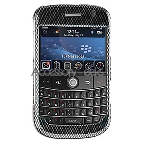 Blackberry Bold Hard Protective Case - Carbon Fiber