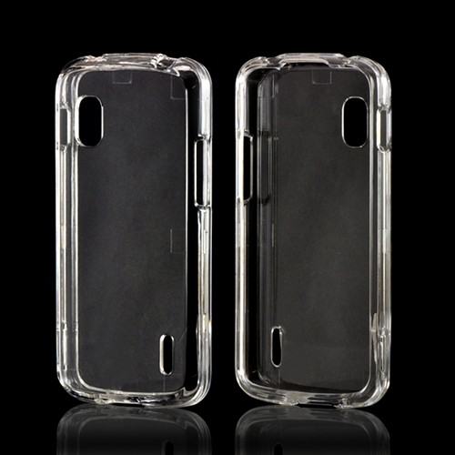 Transparent Clear Hard Case for LG Google Nexus 4