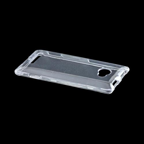 HTC 8X Hard Case - Transparent Clear