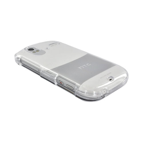 HTC Amaze 4G Hard Case - Transparent Clear
