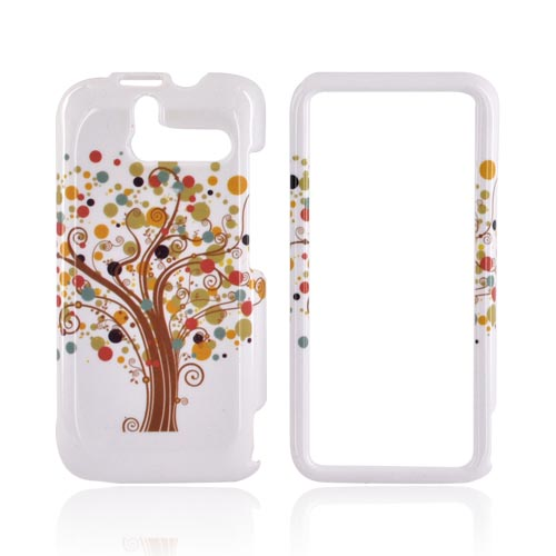 HTC Arrive Hard Case - Tree Design on White