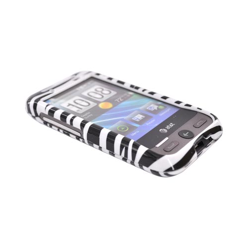 HTC FreeStyle Hard Case - Black/White Zebra