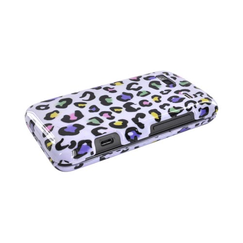 T-Mobile G2 Hard Case - Colorful Leopard on White