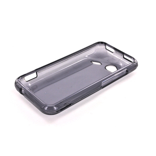 HTC Droid Incredible 4G LTE Hard Case - Transparent Smoke