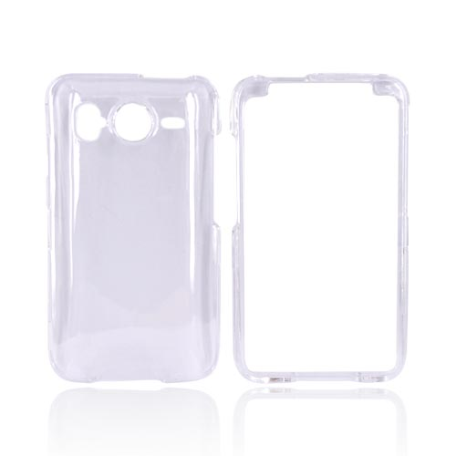 HTC Inspire 4G Hard Case - Transparent Clear