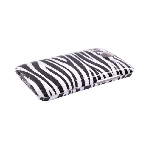 HTC Inspire 4G Hard Case - Black/White Zebra