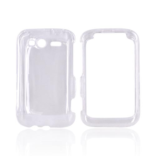 HTC Wildfire S (GSM) Hard Case - Transparent Clear