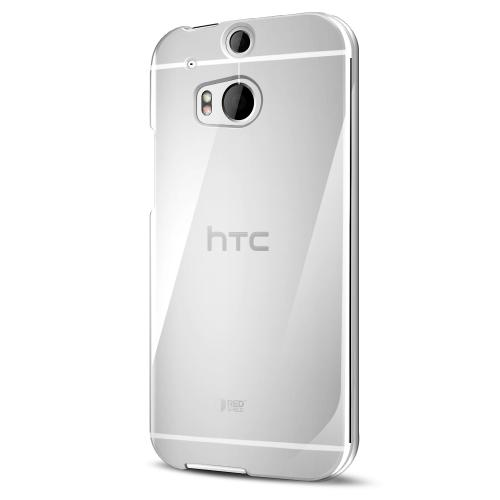 REDShield Clear HTC One (M8) Case, Hard Super Clear Perfectly fitting cover