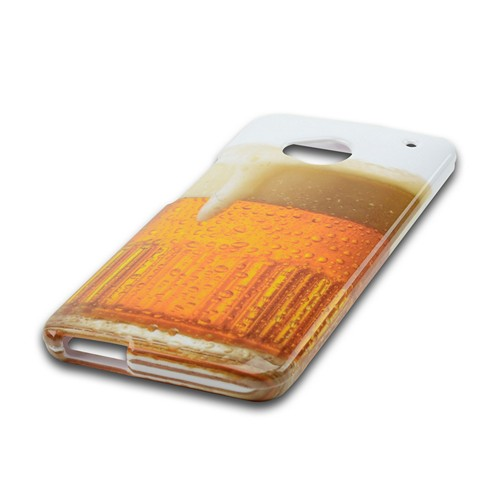 Golden Beer Hard Case for HTC One