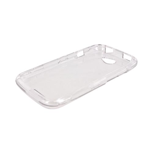 HTC One S Hard Case - Transparent Clear