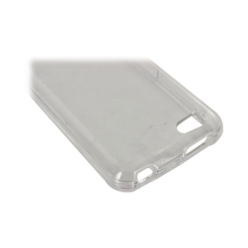HTC One V Hard Case - Transparent Clear