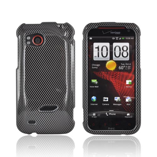 HTC Rezound Hard Case - Carbon Fiber