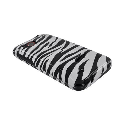 HTC Rezound Hard Case - Black/ White Zebra