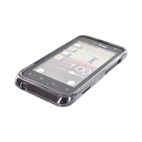 HTC Rhyme Hard Case - Transparent Smoke