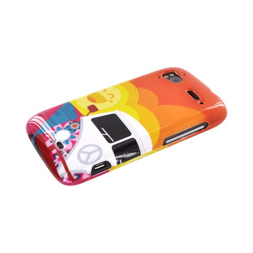 HTC Sensation 4G Hard Case - Hippie Van