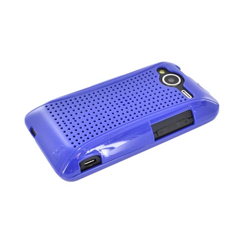 HTC Evo Shift 4G Hard Case - Xmatrix Blue