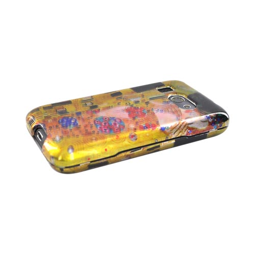 HTC Surround T8788 Hard Case - The Kiss on Yellow/Orange
