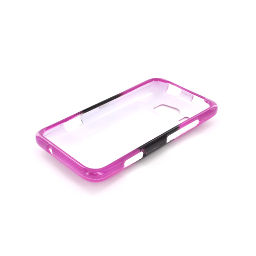 HTC Titan 2 Hard Case - White Skull w/ Bow on Hot Pink