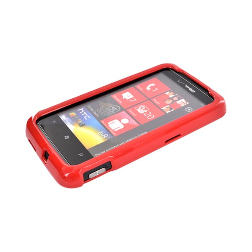 HTC Trophy Hard Case - Red