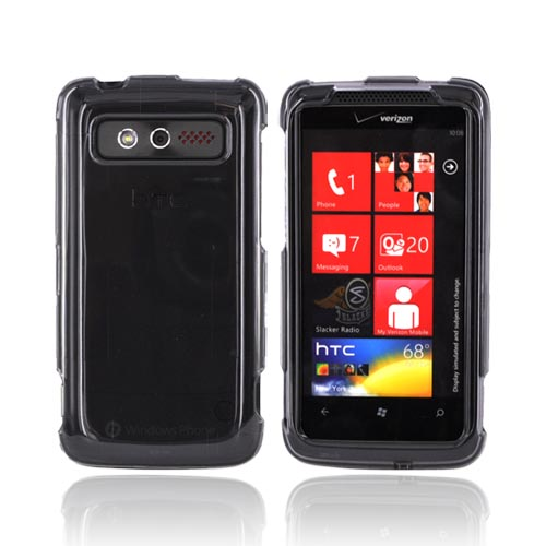 HTC Trophy Hard Case - Smoke