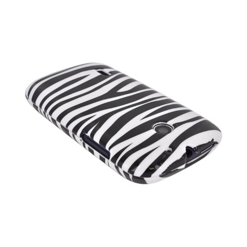AT&T Fusion U8652 Hard Case - Black/ White Zebra