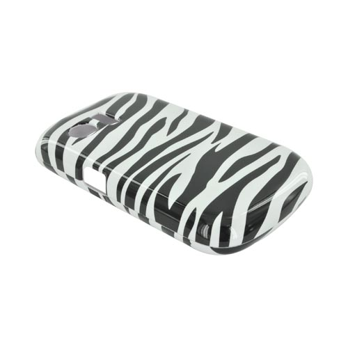 Huawei Pinnacle M635 Hard Case - Black/ White Zebra
