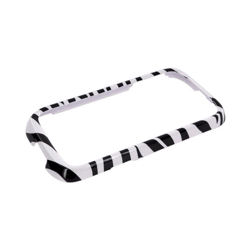 Huawei Ascend 2 M865 Hard Case - Black/ White Zebra