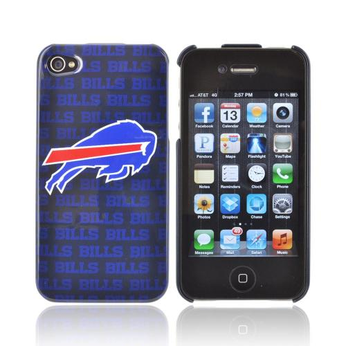 NFL Licensed Apple iPhone 4/4S Hard Case - Buffalo Bills