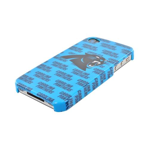 NFL Licensed Apple iPhone 4/4S Hard Case - Carolina Panthers