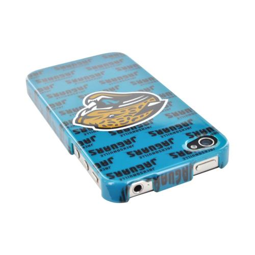 NFL Licensed Apple iPhone 4/4S Hard Case - Jacksonville Jaguars
